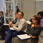 Anna Puccio e Mauro Del Rio presenziano l'evento di premiazione di Share in Action (Milano, 17 giugno 2015)