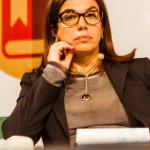 Anna Puccio, Segretario Generale di Fondazione Accenture, nel corso della tavola rotonda (Roma, 28 novembre 2014)