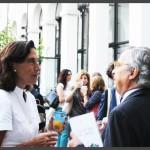 S. Ratti di Fondazione Eni e D. Visconti di Fondaizone Accenture (Milano, 3 luglio 2015)