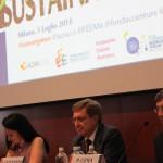E. Giovannini e P. Gera parlano di convergence (Milano, 3 luglio 2015)