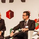 Un momento del dibattito con S. Granata di CGM, L. Filippone di Reale Mutua e F. Zandoani di Iris Network (Roma, 28 novembre 2014)