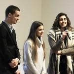 La testimonianza dei vincitori della prima edizione: Francesca La Mantia e i ragazzi della classe