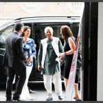 L'arrivo del Premio Nobel Muhammad Yunus (Milano, 3 luglio 2015)