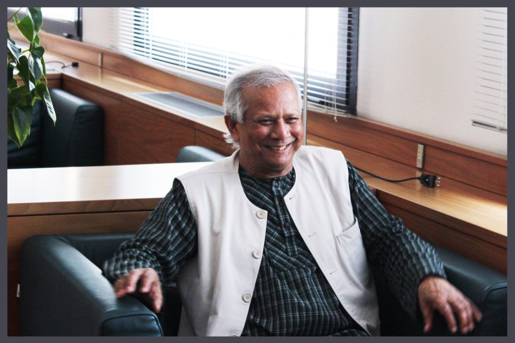 Conversazione con il premio Nobel Muhammad Yunus